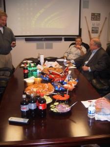 Real Estate Meeting Food